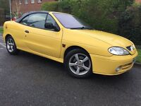 CONVERTIBLE MEGANE SPORT - 1 YEARS MOT - RELIABLE