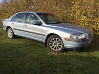 AUTOMATIC VOLVO S80 - 1 YEARS MOT - ONLY 74,000 MILES - GORGEOUS CREAM LEATHER