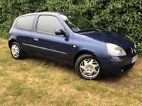2005 CLIO - 1 YEARS MOT - 1.2L - ECONOMICAL & RELIABLE