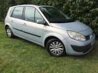 FAMILY VAN - 2004 RENAULT SCENIC - 1 YEARS MOT - CLEAN & RELIABLE