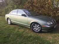 AUTOMATIC JAGUAR S-TYPE - 1 YEARS MOT - LEATHER - SUPERB EXAMPLE
