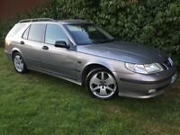 AUTOMATIC ESTATE - 1 YEARS MOT - 2004 SAAB 95 - LEATHER - SUPERB DRIVE