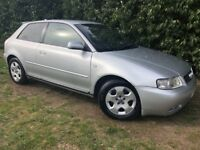 AUDI A3 SPORT 5V - 1 YEARS MOT - FAST, LEATHER, CLEAN