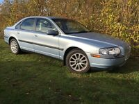 VOLVO S80 - 1 YEARS MOT - ONLY 74,000 MILES - GORGEOUS CREAM LEATHER