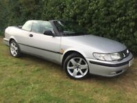 AUTOMATIC CONVERTIBLE SAAB 95 TURBO - 1 YEARS MOT