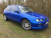 2004 MG ZR - 1.8 - VERY FAST CAR - ONLY 71,000 MILES - SUPERB EXAMPLE