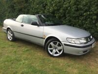 AUTOMATIC SAAB 93 TURBO - 1 YEARS MOT - LEATHER - SUPERB