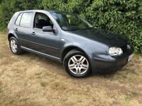 2002 VW GOLF - 1 YEARS MOT - 1.4L - SUPERB EXAMPLE