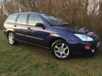 AUTOMATIC FORD FOCUS ESTATE - 1 YEARS MOT - SERVICE HISTORY