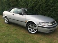 AUTOMATIC SAAB 93 TURBO CONVERTIBLE - LEATHER - 1 YEARS MOT