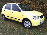 2006 SUZUKI ALTO - ONLY 55,000 MILES - 1.0L - £30 ANNUAL ROAD TAX