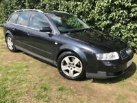 AUTOMATIC AUDI A4 QUATTRO - 1 YEARS MOT - LEATHER