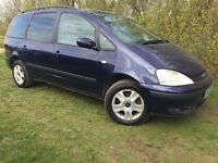 7 SEAT - 2003 FORD GALAXY - ONLY 83,000 MILES - CLEAN - RELIABLE