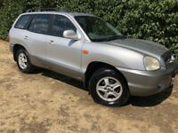 4x4 HYUNDAI SANTA FE - FOUR WHEEL DRIVE - CLEAN & RELIABLE