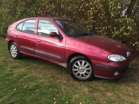 2002 RENAULT MEGANE - LONG MOT - 1 FAMILY OWNED FROM NEW