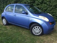 2004 DIESEL NISSAN MICRA - 1 YEARS MOT - £30 ANNUAL TAX