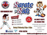 Karate in Tipton