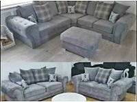 SALE SALE SALE ON-- FACTORY PACKED VERONA CORNER SOFA AVAILABLE IN 3+2 SOFA SETS