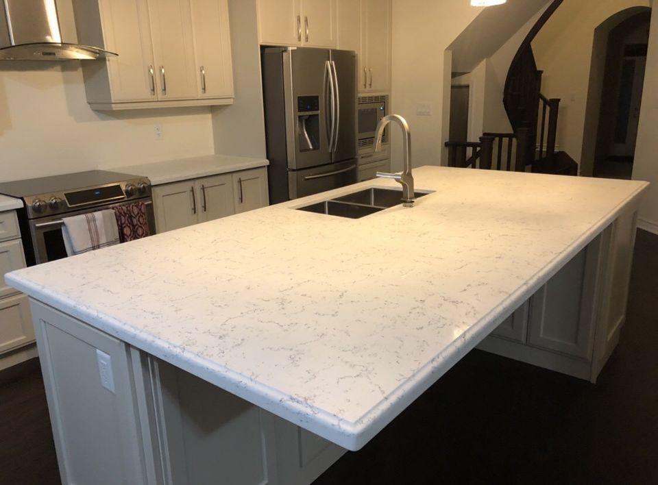 kitchen remodels slab countertop countertops quartz pomona prefab genuine