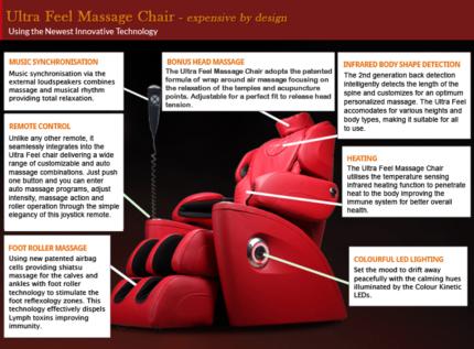 Massage Chair Electric Recliner Zero Gravity