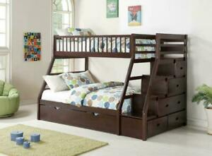 Huge sale on solid wood bunk beds with deilvery