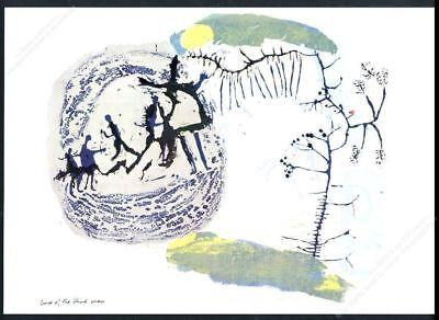 1968 Sister Corita Kent Cure Of The Blind Man Vintage Poster Print - $15.39