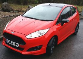 2014 64 Ford Fiesta ZetecS 'Red' Edition, One Private Owner, Bluetooth Music & Phone, Warranty!