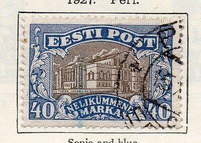 Estonia 1927 Early Issue Fine Used 40m. 087888