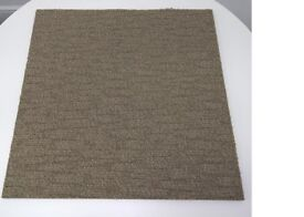 "Desso ""Tree"" Soundmaster Carpet Tiles In Oatmeal - Boxed - As New - Sound Reduction- Price Inc VAT"