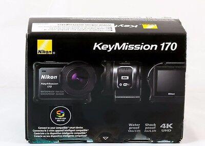 Nikon KeyMission 170 WaterProof ShockProof FreezeProof 4K Action Video Camera
