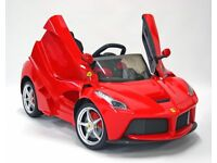 Kids Ride On Car Red Ferrari LaFerrari Electric Car for Hire for Birthday party etc. £60.00