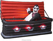 Animated Vampire Coffin