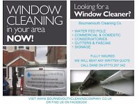 Bournemouth Cleaning Co. Specialists in Window & Gutter cleaning