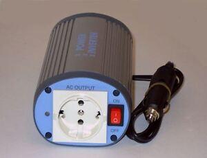 Spannungswandler für Kfz 12V/230V - 150W/300W Softstart Wechselrichter Inverter