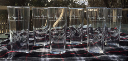 Beer glasses - James Squire Fairfield Fairfield Area Preview