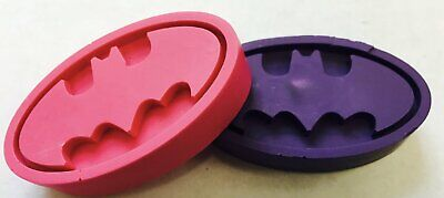 5 Sets of 2 Batgirl  Crayons Party Favors Super Hero Girls  Birthday Fillers  - Batgirl Party Favors