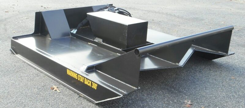 "60"" Skid Steer Rotary Brush Cutter / Bush Hog Attachment Reg Low Flow-$199 Ship"
