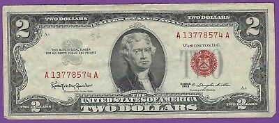 2 00 United States Note   1963   Granahan Dillon   A13778574a