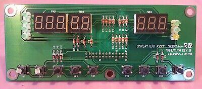 Shaker Displayswitch Board Jeio Tech Si-600 Lab Companion Incubator Aah23206u