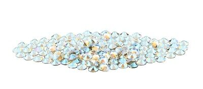 Crystal Clear Shimmer Swarovski Crystals Flatback Rhinestone NON Hotfix 144PCS