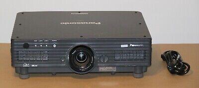 Panasonic PT-DW5100 WXGA 5500 Dual Lamp VGA DVI DLP Home Cinema Projector