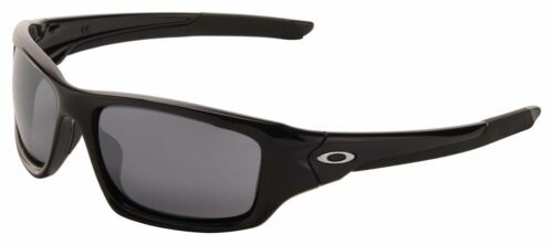 GENUINE Oakley Valve Sunglasses OO9236-01 Polished Black | Black Iridium Lens