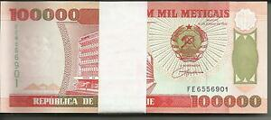 Mozambique Bundle 100x 100 000-100000 mozambiqueños 1993 P 139 UNCIRCULATED. 5RW 12GEN-  ver título original - España - Mozambique Bundle 100x 100 000-100000 mozambiqueños 1993 P 139 UNCIRCULATED. 5RW 12GEN-  ver título original - España