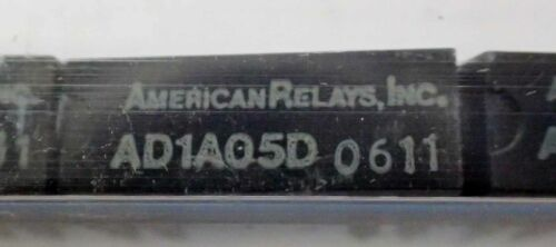 AMERICAN RELAYS AD1A05D RELAY 5 Vdc 0.5A DUAL-IN LINE (DIP) REED RELAY  20 PCS