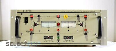 Kepco Bop 500m Bipolar Operational Power Supply Amplifier 40w 500v Ref276
