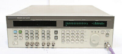 Hp 83731a 8ghz-20ghz Synthesized Signal Generator Opt 1e1 1e2 1e5 237