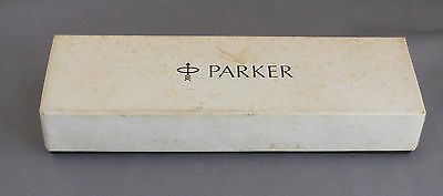 Parker 45 Cardboard Pen Box--with  instructions