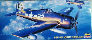 AVION-F6F-5N-NIGHT-HELLCAT-HASEGAWA-SP109-Hobby-kits