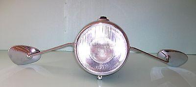Spiegel Albert Form groß 90x135mm für BMW R26 R27 R50 - R69S R51/2 - R68 R+L