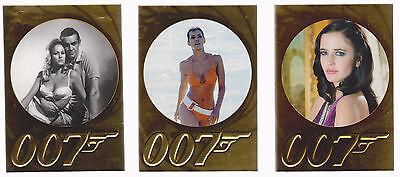 JAMES BOND 007 50th ANNIVERSARY SERIES 1 & 2 COMPLETE SET 1-198